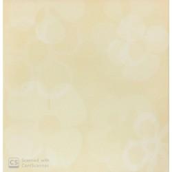 Mattonella Crema Fiore 20x20 Cm