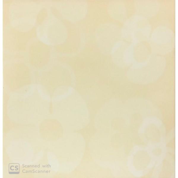 Mattonella Crema -Paglia  20x20 Cm