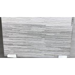 Mattonella Effetto Pietra Scaglia Grigio 30x60 cm