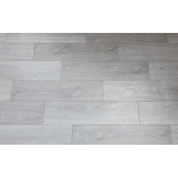Mattonella ash grigio gres porcellanato effetto legno formato 18x62cm - Pavimento effetto bagnato ...