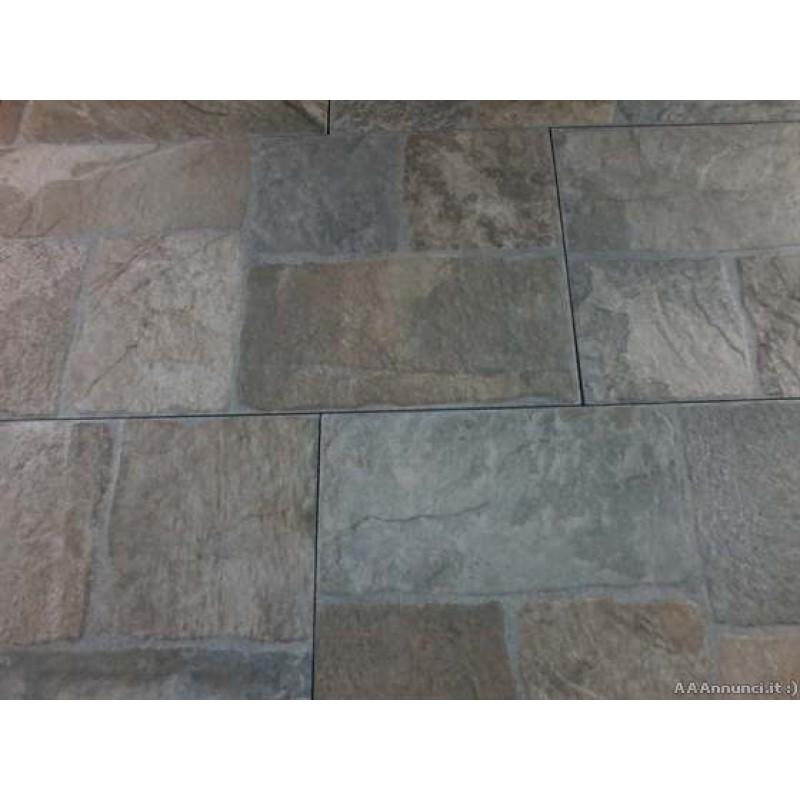 Mattonella aia grigio 30x60 cm for Mattonelle per esterno