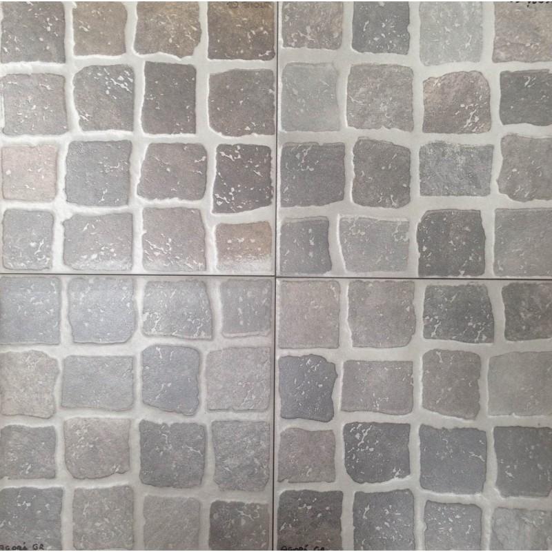 Mattonella agor grigio 30x30 cm - Mosaico per esterno ...