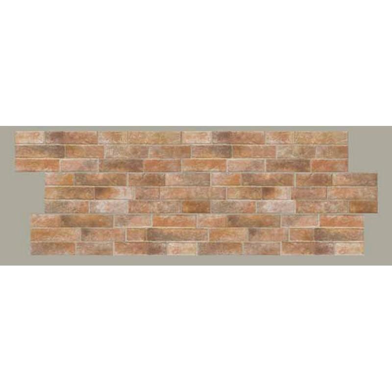 Mattonella muro ocra 18x63 cm - Rivestimento muro interno ...