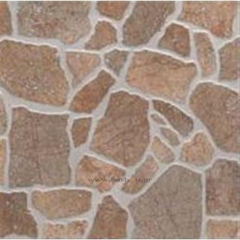 Mattonella river ocra 30x30 cm - Piastrelle effetto pietra per esterno prezzi ...