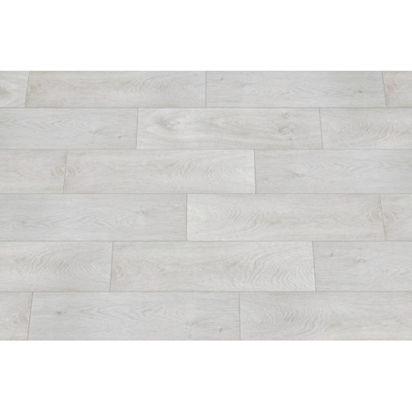 Mattonella ASH Bianco - Gres Porcellanato, Effetto Legno, Formato: 18x62cm