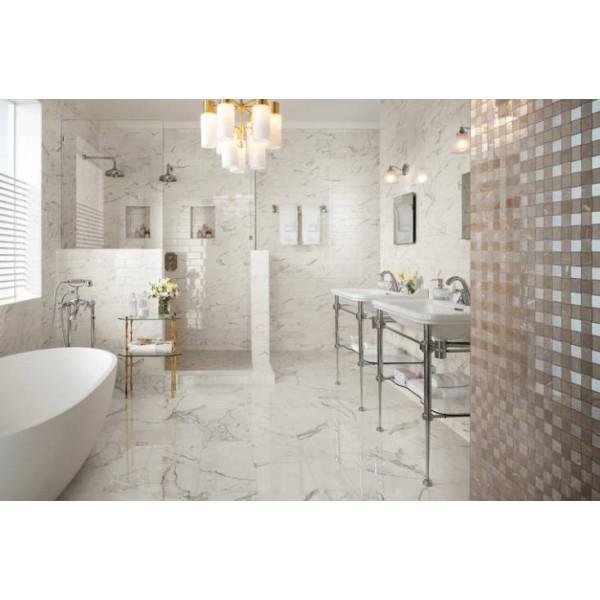 Mattonella Carrara 60x60 Cm - lucida