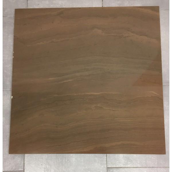 Mattonella 80x80 - colore bronzo - lappata lucida