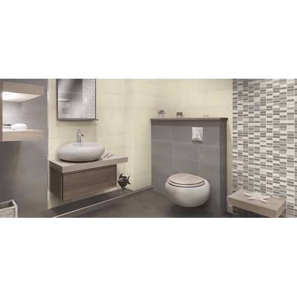 Mattonella domus beige taupe mosaico - Coprire mattonelle bagno ...