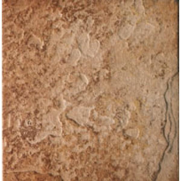 Mattonella Beola Rosso in Gres porcellanato, Formato 15x15 cm, Antiscivolo e Antigelivo