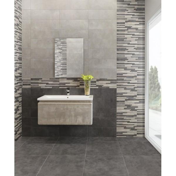 Mattonella Carlota grigio 20x60 Cm