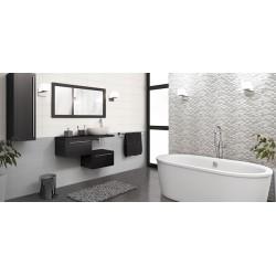 Mattonella  Domus Bianco + Perla + Tassellato mosaico 20x50