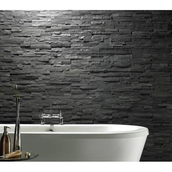 Orient black 10x40 Cm  - Pietra Naturale Ad Incastro