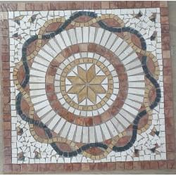 Rosone decorativo 60x60 Sahara