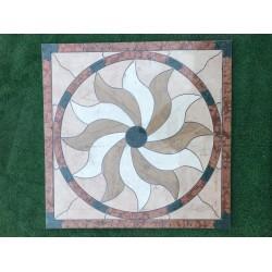 Rosone decorativo 60x60 Pietra naturale