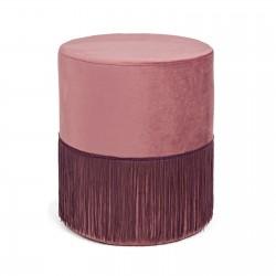 Pouf filo rosa
