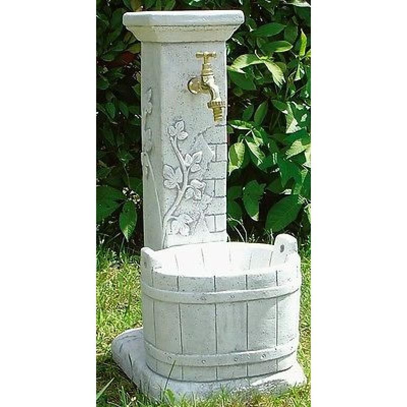 Fontana da giardino secchio - Fontane a muro da giardino ...