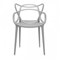 Sedia in Polipropilene Grigio