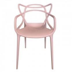 Sedia in Polipropilene Rosa