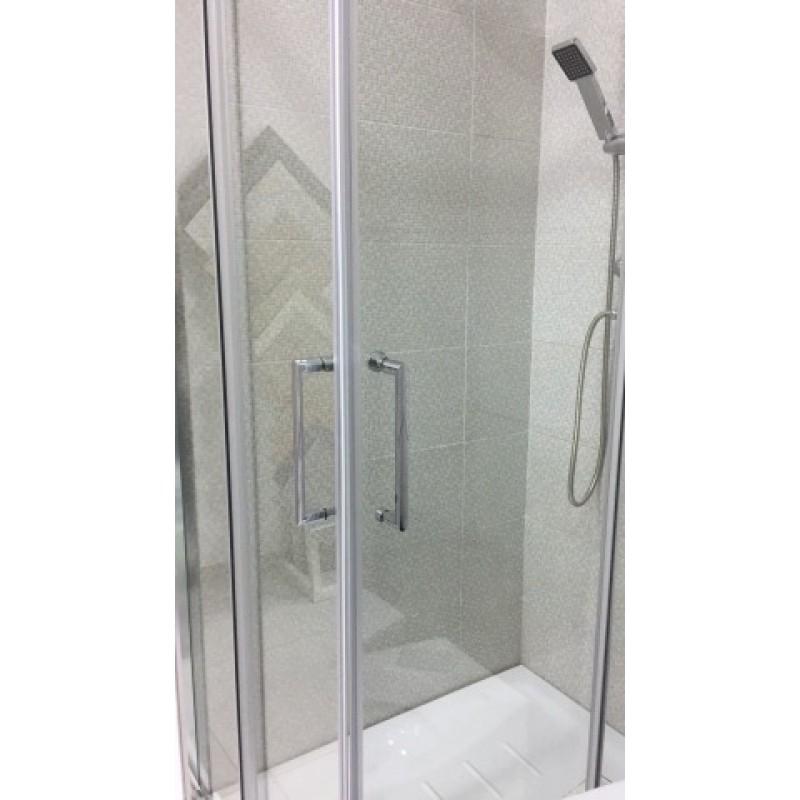 Box doccia in cristallo spessore vetro 6 mm profilo for Ikea prodotti bagno