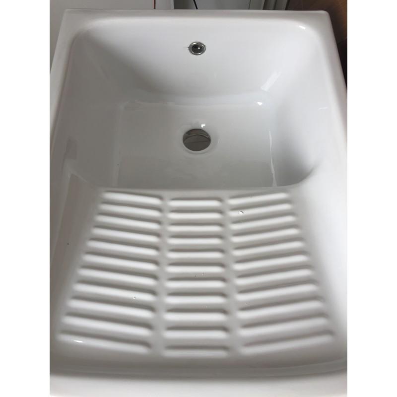 Lavabo In Ceramica Per Esterno.Lavatoio In Ceramica Con Strizzatoio Esterno 50 X 60 Cm