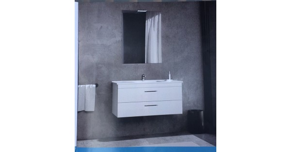 Mobile da bagno fast da 100 cm vari colori for Accessori bagno bianchi