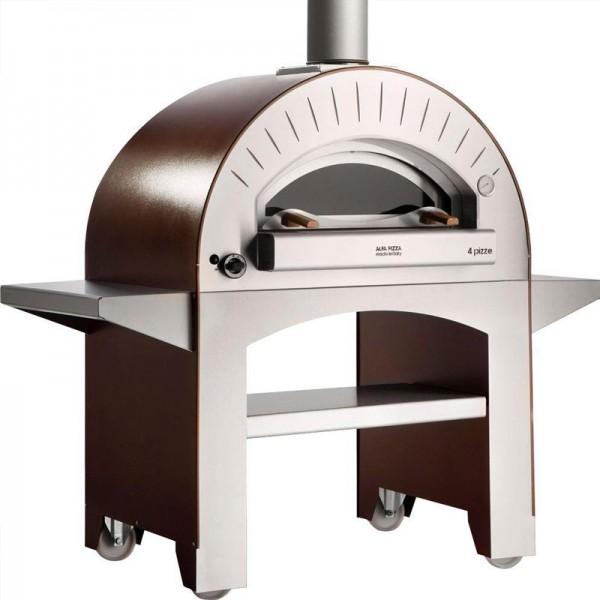 Forno 4 pizze forno a legna da giardino concepito per la for Forno a legna 4 pizze