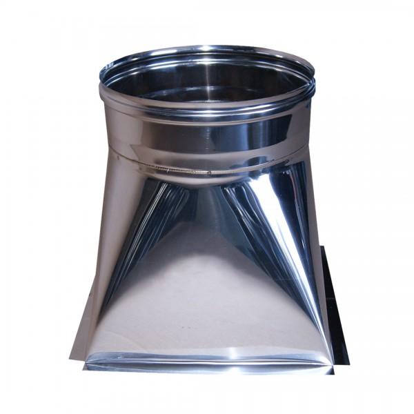Tramoggia 30x30 da 250 - acciaio inox