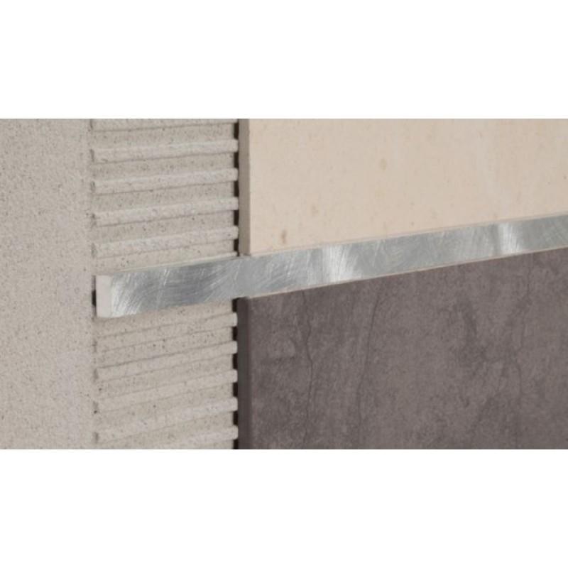 Profili decorativi per mattonelle in alluminio finitura - Listelli decorativi per bagno ...