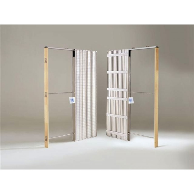 Scrigno doortech finest scrigno single pocket door system imperial doors with scrigno doortech - Porte scorrevoli a scomparsa misure ...
