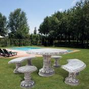 Tavoli da Giardino in cemento (2)