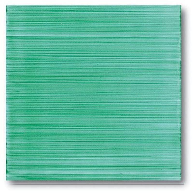 Mattonella pennellato verde vietrese 20x20 - Rivestimenti bagno vietri ...