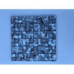 Mosaico su rete Foglia - 30x30 Cm