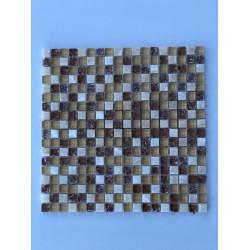 Mosaico su rete Lux Beige - 30x30 Cm