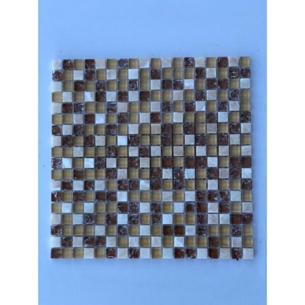 Mosaico su rete Lux Diamante - 30x30 Cm