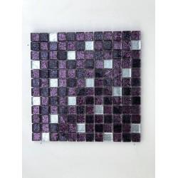 Mosaico su rete STIRPE VIOLA - 30x30 Cm